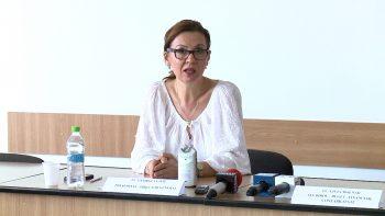 Georgeta Pop a promovat concursul pentru preşedinţia CJAS