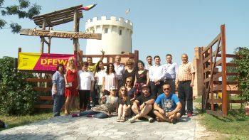 Artiști și organizatori la Cetatea Ardudului