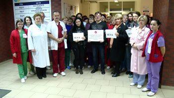 Angajaţii din Sănătate au fost în grevă de avertisment timp de două ore