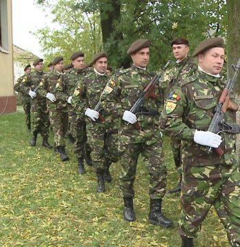 Infanteristii au participat la slujbe de pomenire a eroilor organizate la Ruseni si Tatarasti