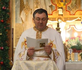 Preotul paroh Vasile Chesei