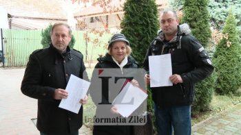 Mircea Moldovan, Florica Deac şi Adrian Gal, reprezentantii locuitorilor din Satmarel