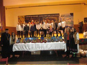 Ca o încununare a activităţii desfăşurate în primul semestru al anului şcolar, elevii Şcolii Gimnaziale Culciu Mare au participat la un concert de colinde în localitatea Rus din judeţul Maramureş.