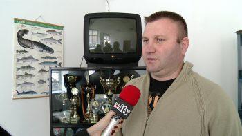 Directorul Asociaţiei Pescarilor Sportivi Satu Mare - Levente Nagy