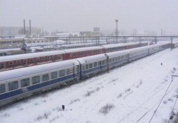 Zeci de trenuri au fost anulate pentru a facilita interventia autoritatilor