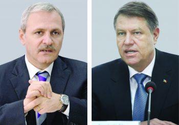 Liviu Dragnea şi Kalus Iohannis