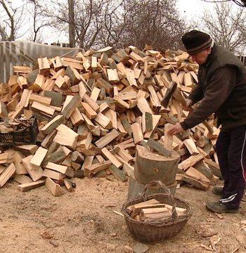 Încălzirea pe lemne costă aproximativ 1.400 de lei pentru lunile de iarnă, iar cea pe gaz circa 700 lei