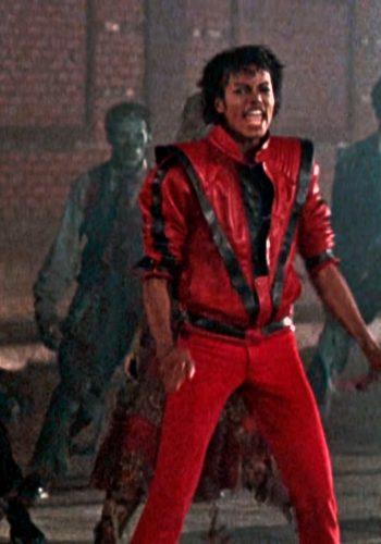 """Michael Jackson în perioada """"Thriller"""""""