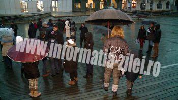 Satmarenii au iesit din nou la protest