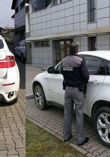 Masina furata din Italia