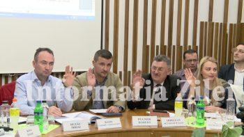 Toti consilierii locali satmareni au fost prezenti la sedinta