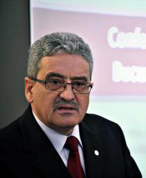 Simion Hancescu, presedintele Federatiei Sindicatelor Libere din Invatamant