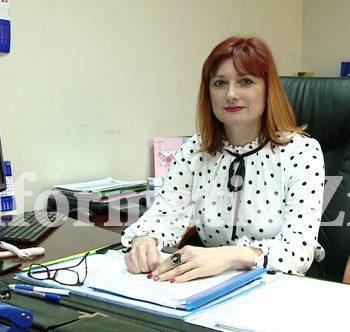 Ildiko Tivadar - directoarea Agenţiei Judeţene pentru Plăţi şi Inspecţie Socială Satu Mare