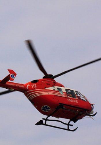 Un copil de un an şi trei luni transportat de urgenţă cu elicopterul SMURD la Spitalul de Arşi