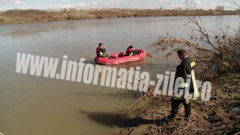 Echipa Inspectoratului pentru Situaţii de Urgenţă a făcut joi căutări pe Someş de la Podul Galben la Oar