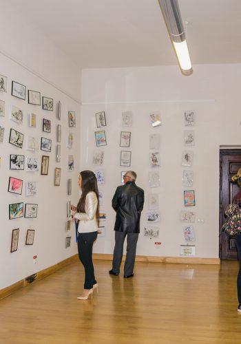 Interior al expoziției