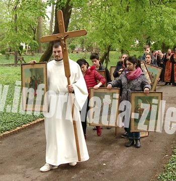 In Vinerea Mare crestinii retraiesc patimirile lui Isus Hristos