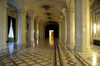 Interior din Palatul Parlamentului