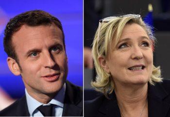 Emmanuel Macron şi Marine Le Pen