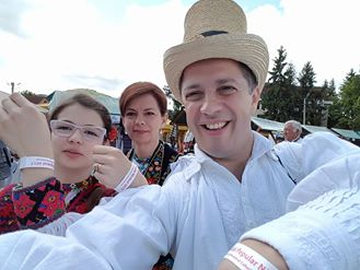 Selfie cu familia Pasca