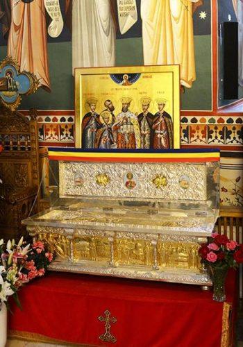 Moastele Sfantului Constantin Brancoveanu