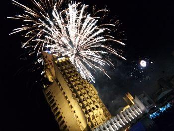 Artificii Palat Administrativ SM. Foto Armina
