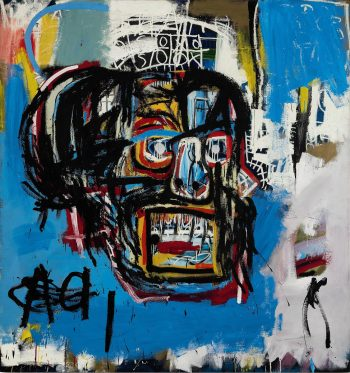 "Jean Michel Basquiat - ""Untitled"" (1982)"