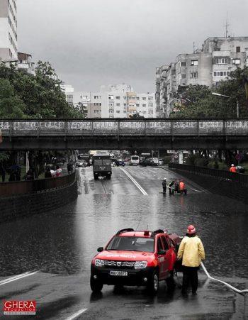 Pasajul Soarelui inundat