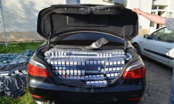 Autoturismul in care a fost transportata marfa de contrabanda a fost confiscat