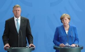 Klaus Iohannis şi Angela Merkel
