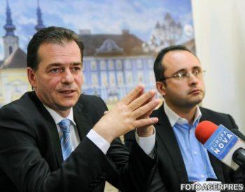 Ludovic Orban şi Cristian Buşoi