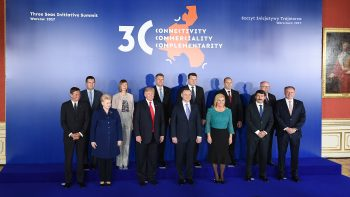 Iohannis şi Trump s-au întâlnit la summitul de la Varşovia