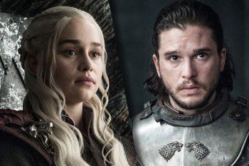 Daenerys şi Jon Snow