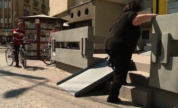 Rampe pentru persoanele cu dizabilitati