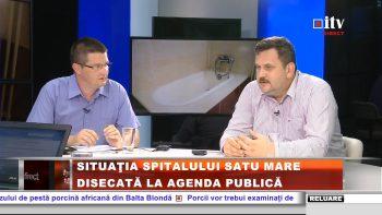 """Pataki Csaba: """"Mentalităţile neadecvate nu au ce căuta într-un spital"""""""
