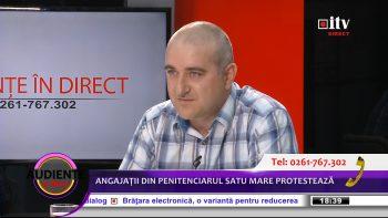 """Vaida Dorin - preşedintele sindicatului """"Speranţa"""" din cadrul Penitenciarului Satu Mare"""