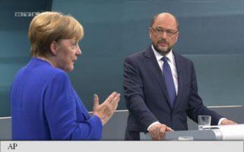 Angela Merkel şi Martin Schulz
