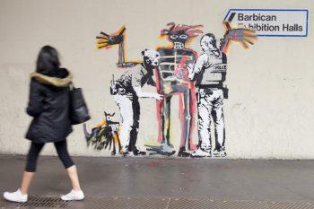 Lucrarea lui Banksy