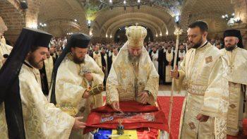 De începutul Anului Nou bisericesc au fost sfinţite şi înmânate 574 de Antimise noi pentru Altarele Eparhiei Maramureşului şi Sătmarului