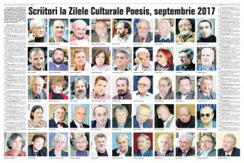 Participanţii la Zilele Poesis 2017