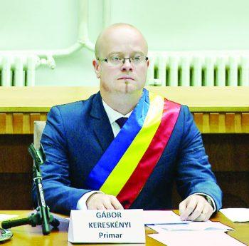 Kereskenyi Gabor, primarul municipiului Satu Mare
