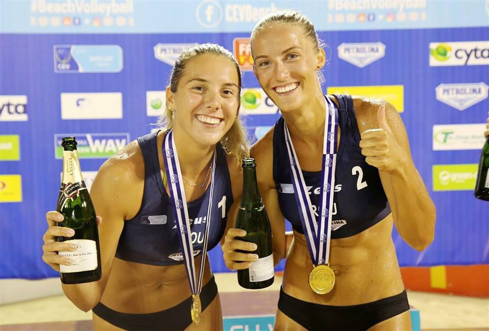 Voleibalistele Adriana Matei şi Beata Vaida