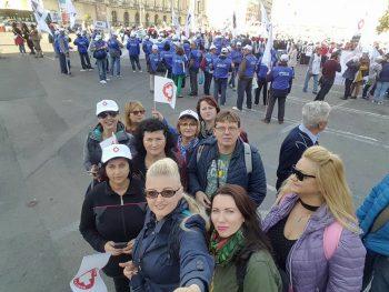 20 de sătmăreni participă azi la mitingul Sanitas din Bucureşti