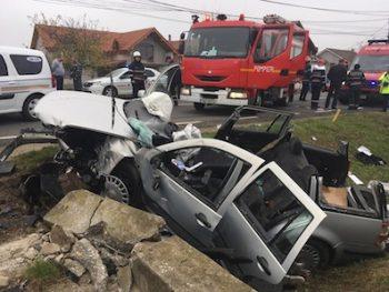 Accident pe Lucian Blaga 1