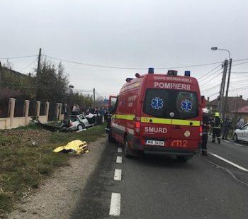 Accident pe Lucian Blaga 2