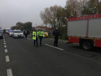 Accident pe Lucian Blaga 4