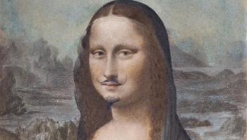 Mona Lisa a lui Duchamp