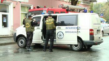 Autorităţile au fost puse în alertă din cauza unui geamantan suspect din centrul oraşului