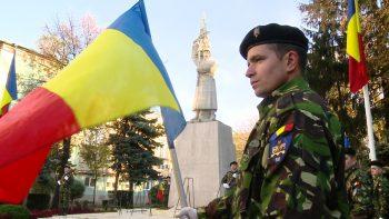 Ceremonia de Ziua Armatei Române la Satu Mare