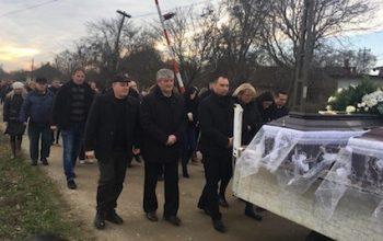 Inmormantarea a avut loc marti, la ora 13,00